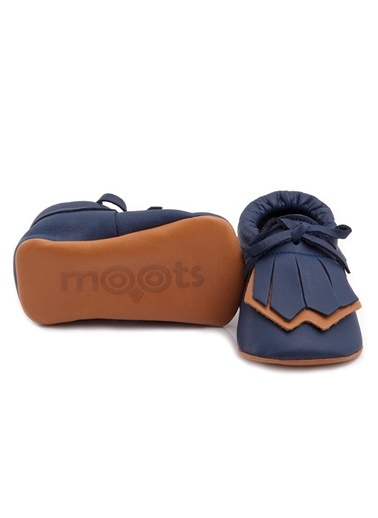 Moots Moots Lacivert Taba Geronimo Ayakkabı Lacivert
